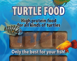Turtlefood 100 Gr Blister - 20 Cube New Line M20