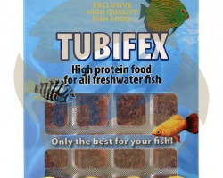 Tubifex 100 Gr Blister - 24 Cube New Line M20